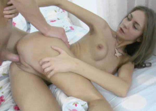 Angie Anne gets her young ass stuffed